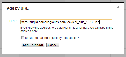 Google Calendar Screenshot 5